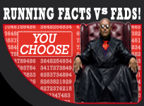 Running facts vs fads